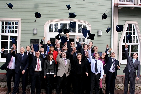 Graduation of the Executive MBA Oil&Gas 2 Group