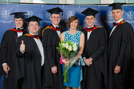 EMBA Graduation Ceremony 2015