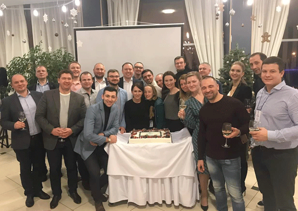 new EMBA General Management group GMR11 of SSE Russia