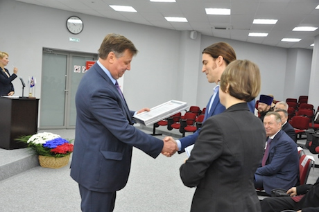 Graduation ceremony for the 8th round of SSE Russia corporate program for the Russian Railways