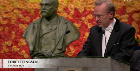 TORE ELLINGSEN´S SPEECH AT THE NOBEL PRIZE AWARD CEREMONY